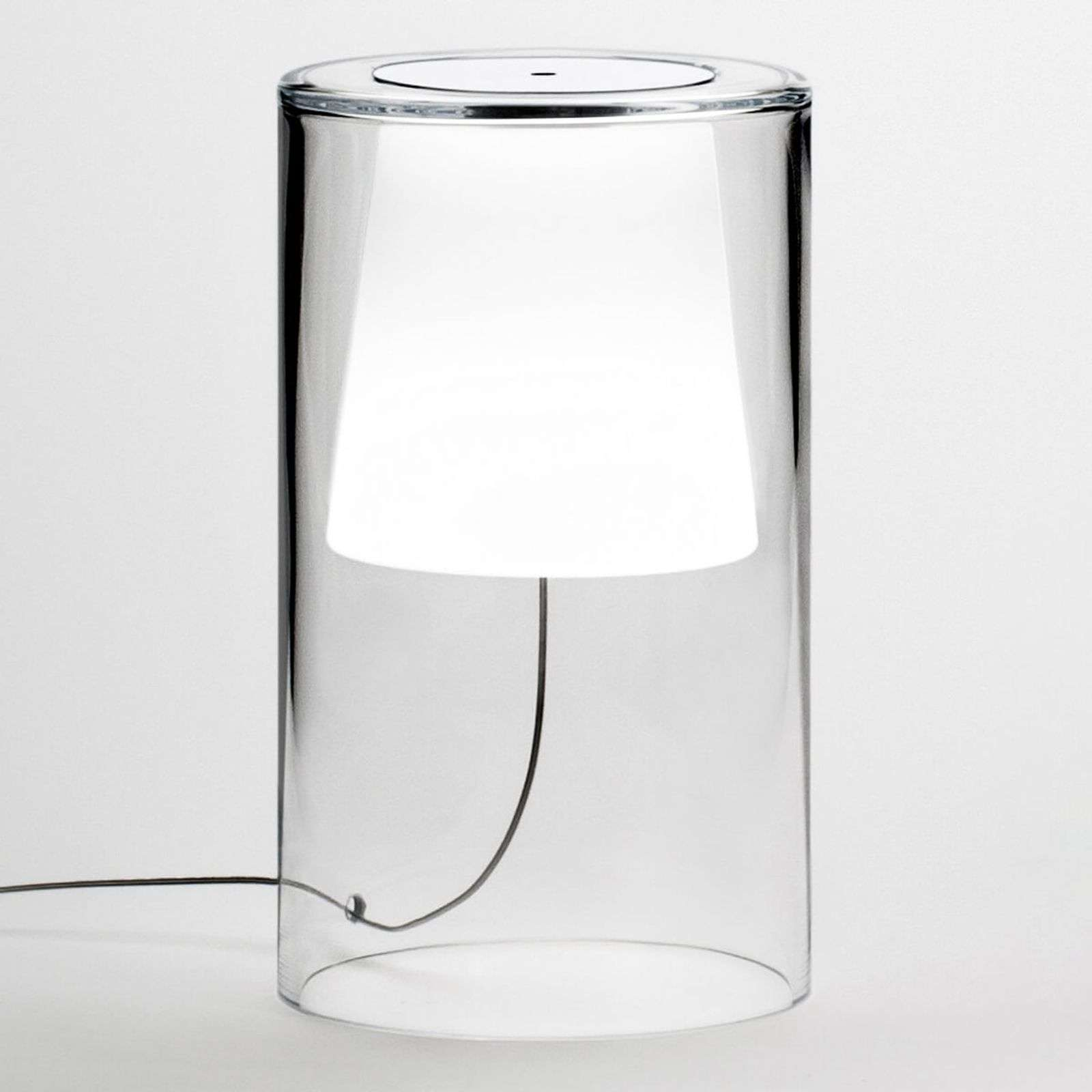 Lampe à poser design Join, dimmable, verre soufflé