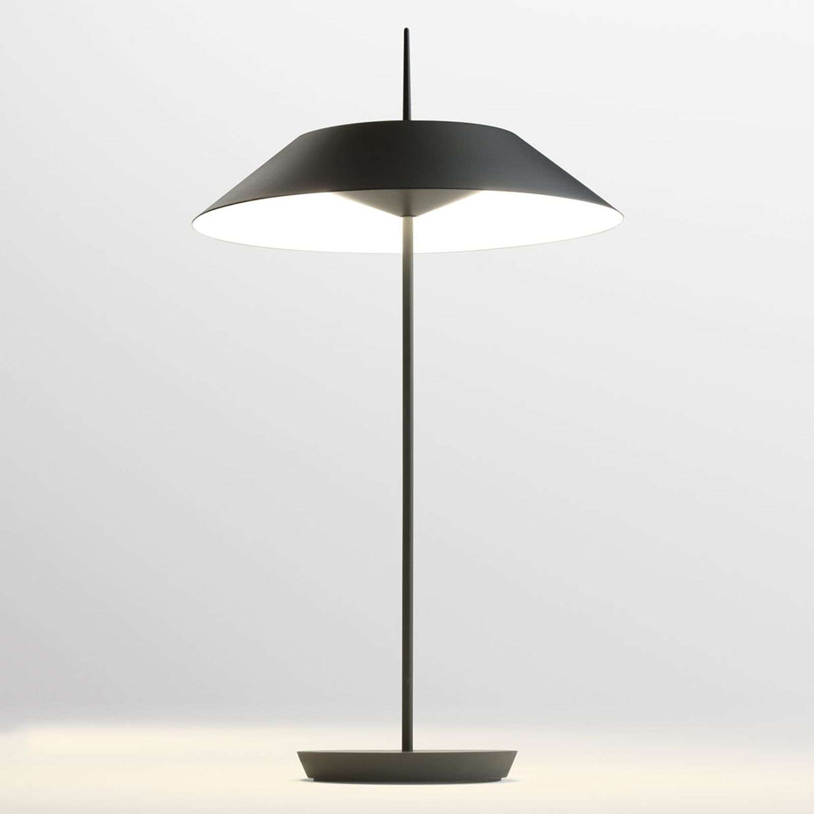 Vibia Mayfair lampe à poser LED, gris graphite