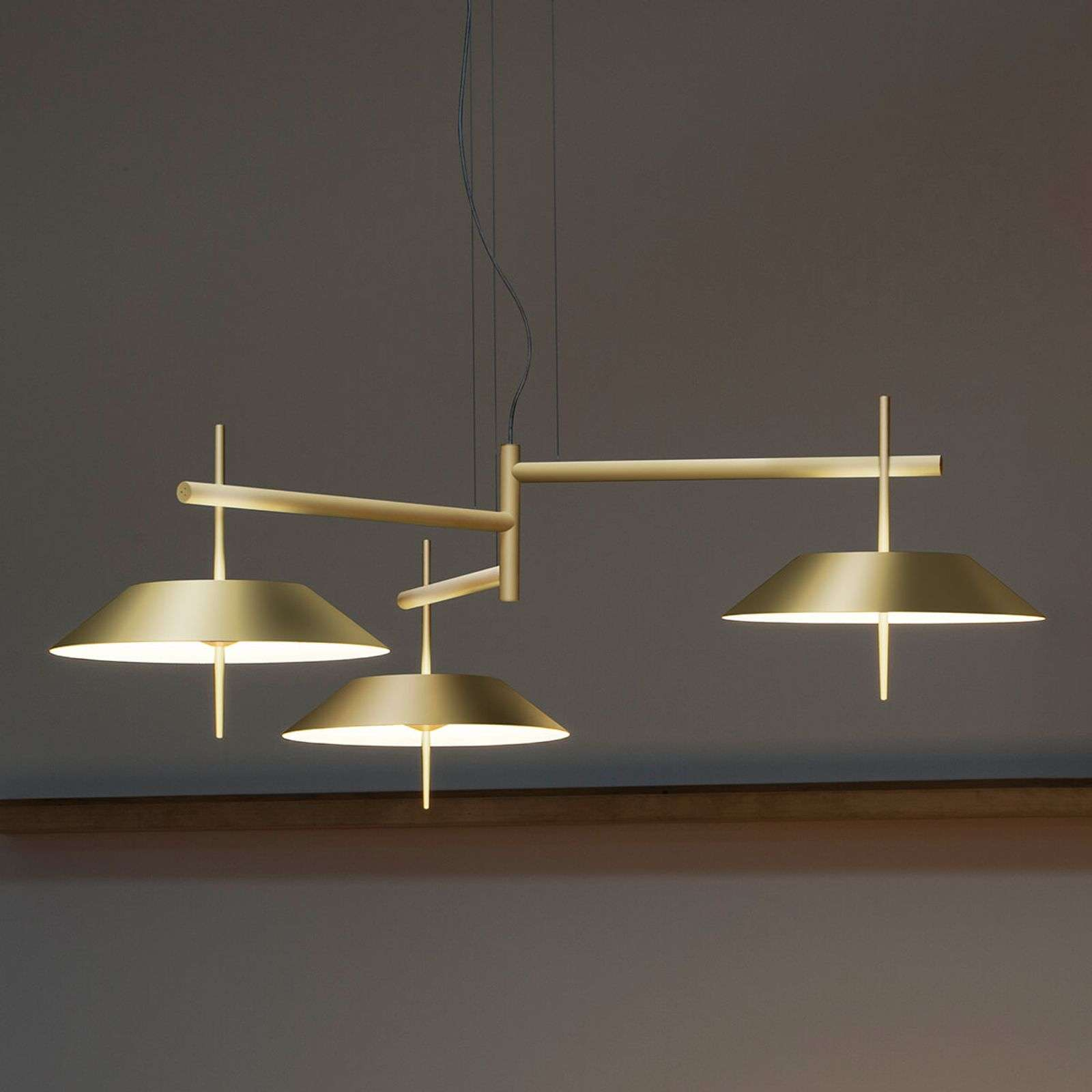 Suspension LED design Mayfair à 3 lampes