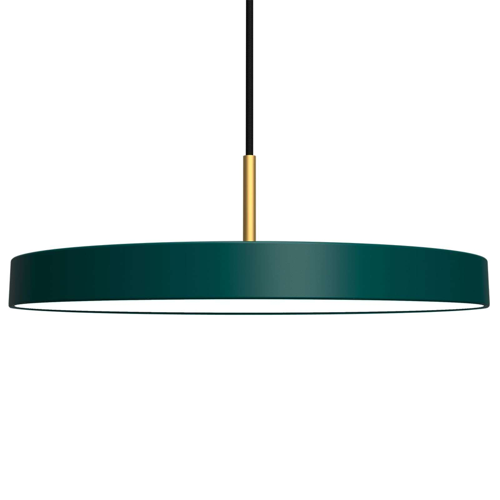 Suspension LED futuriste Asteria verte