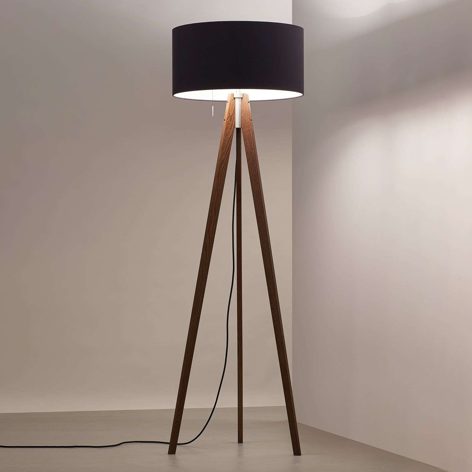 Lampadaire LED Vivaa Free Wood