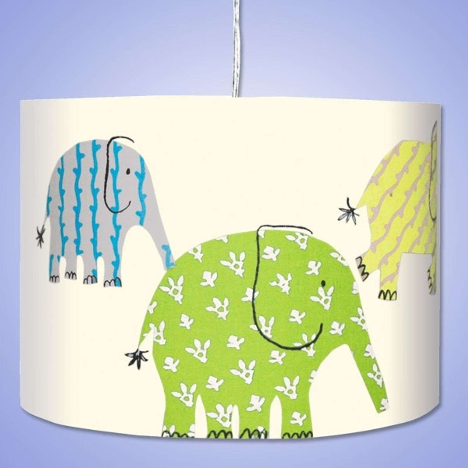 Suspension tendance ELEFANT verte