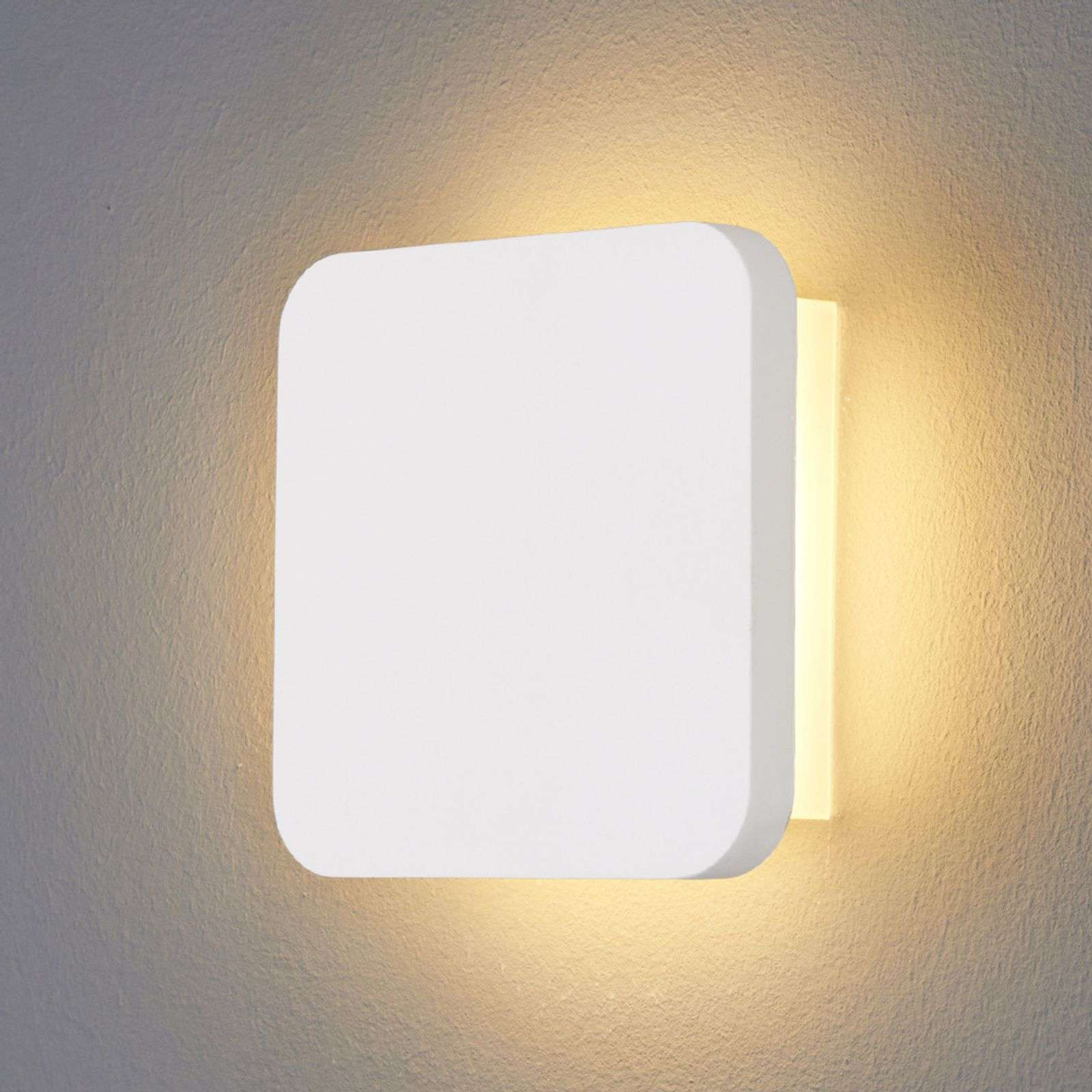 Applique LED en plâtre Gypsum moderne