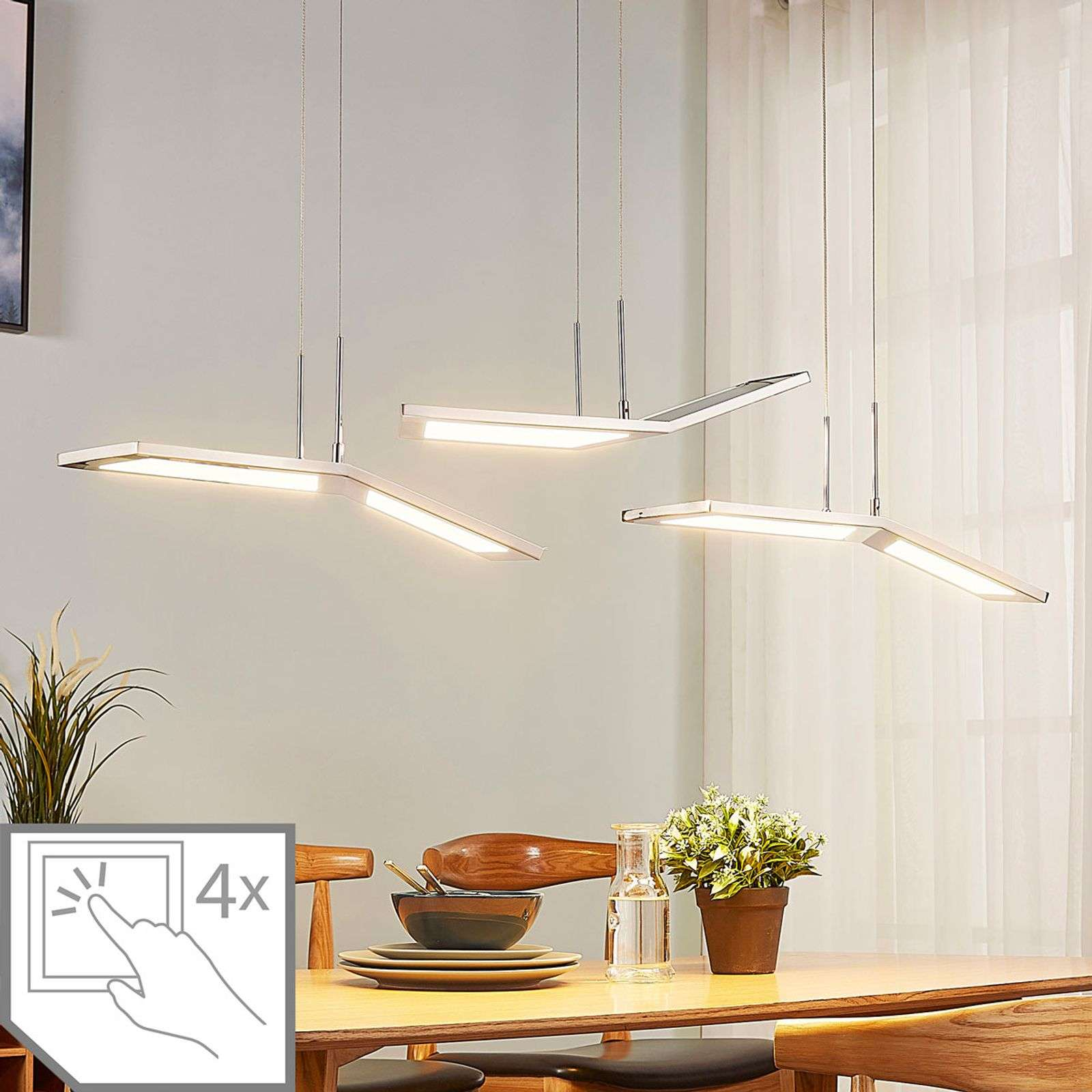 Suspension LED dimmable Luciano