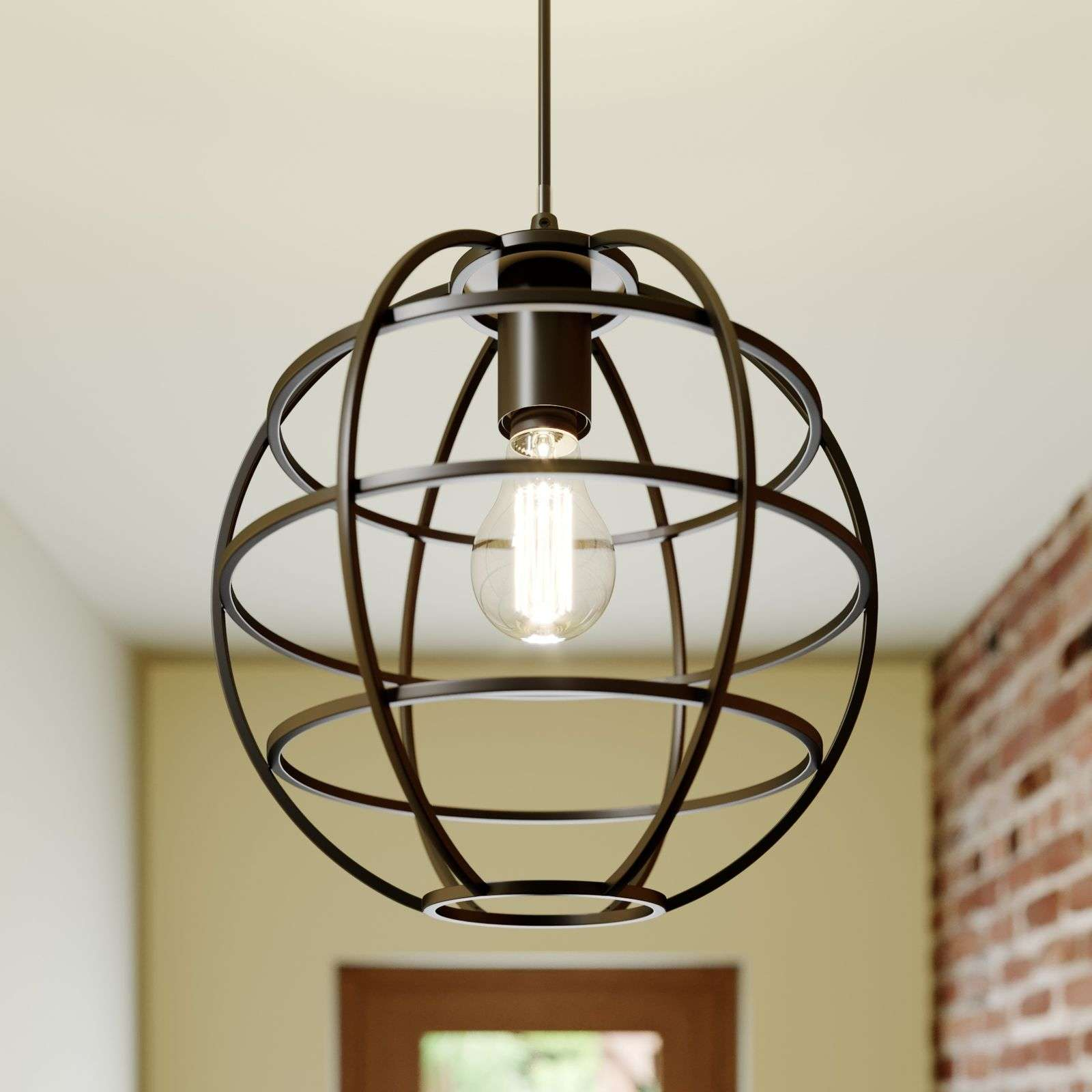 Suspension cage Bekira, 1 lampe