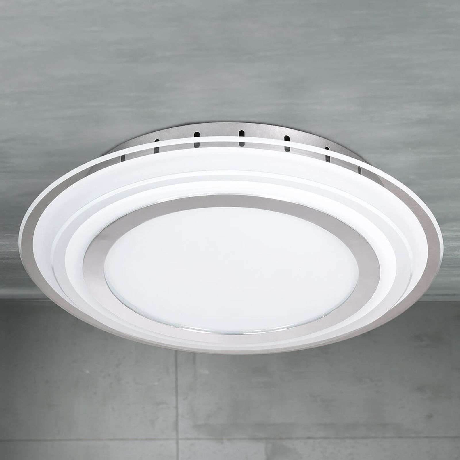 Plafonnier LED Nancy, forme ronde
