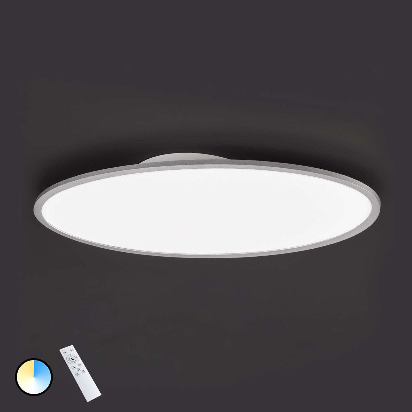 Plafonnier LED dimmable Valley, longueur 100 cm