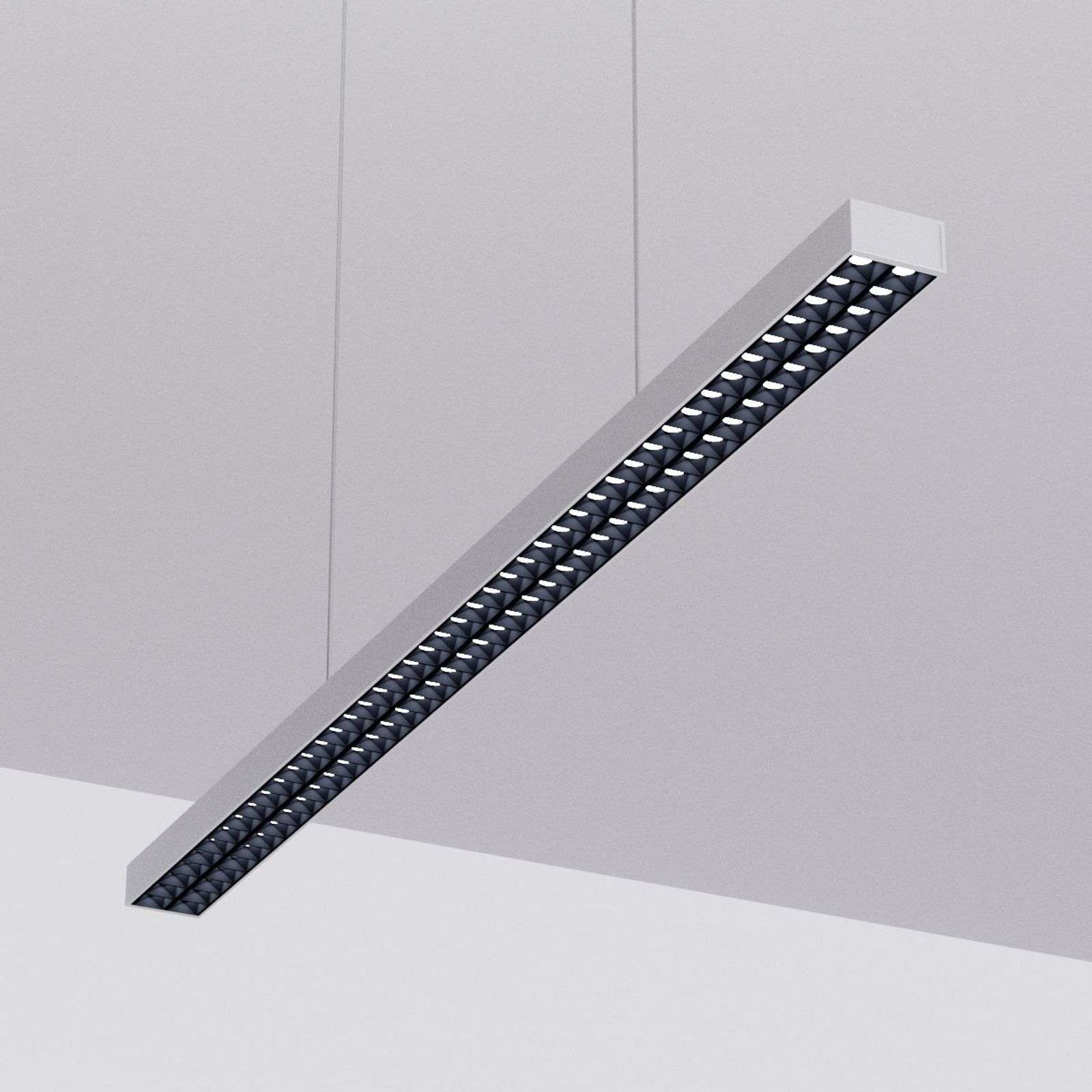 Suspension LED de bureau Jolinda, dimmable DALI