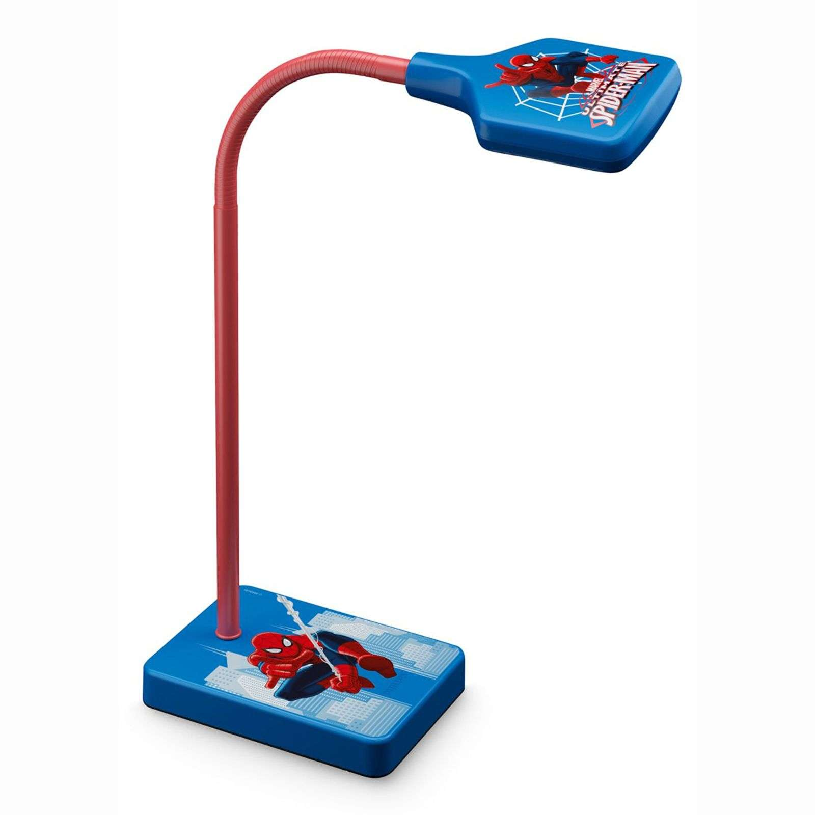 Lampe à poser LED Spiderman, chambre d'enfant