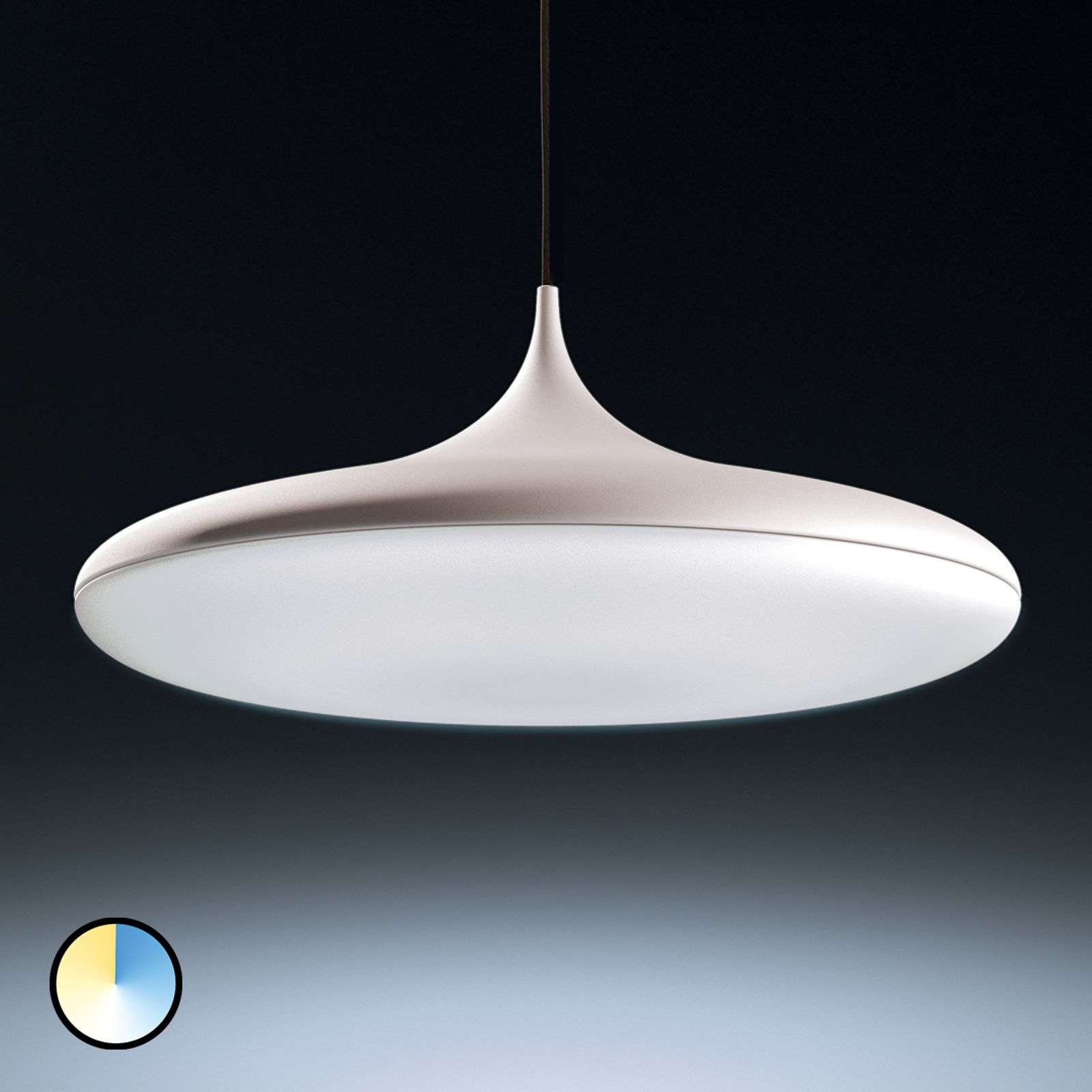 Philips Hue White Ambiance Cher suspension blanche