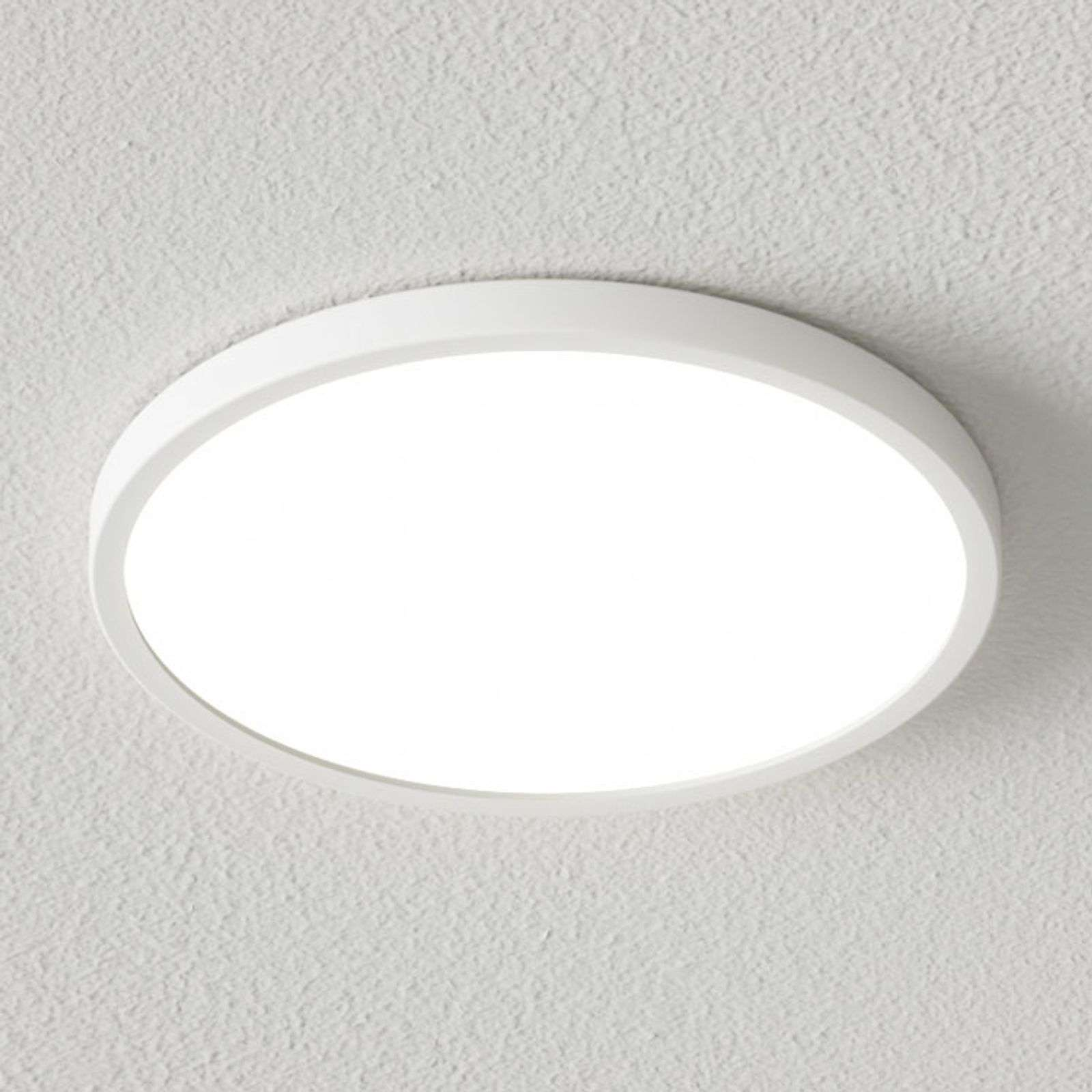 Plafonnier LED Solvie blanc, intensité variable