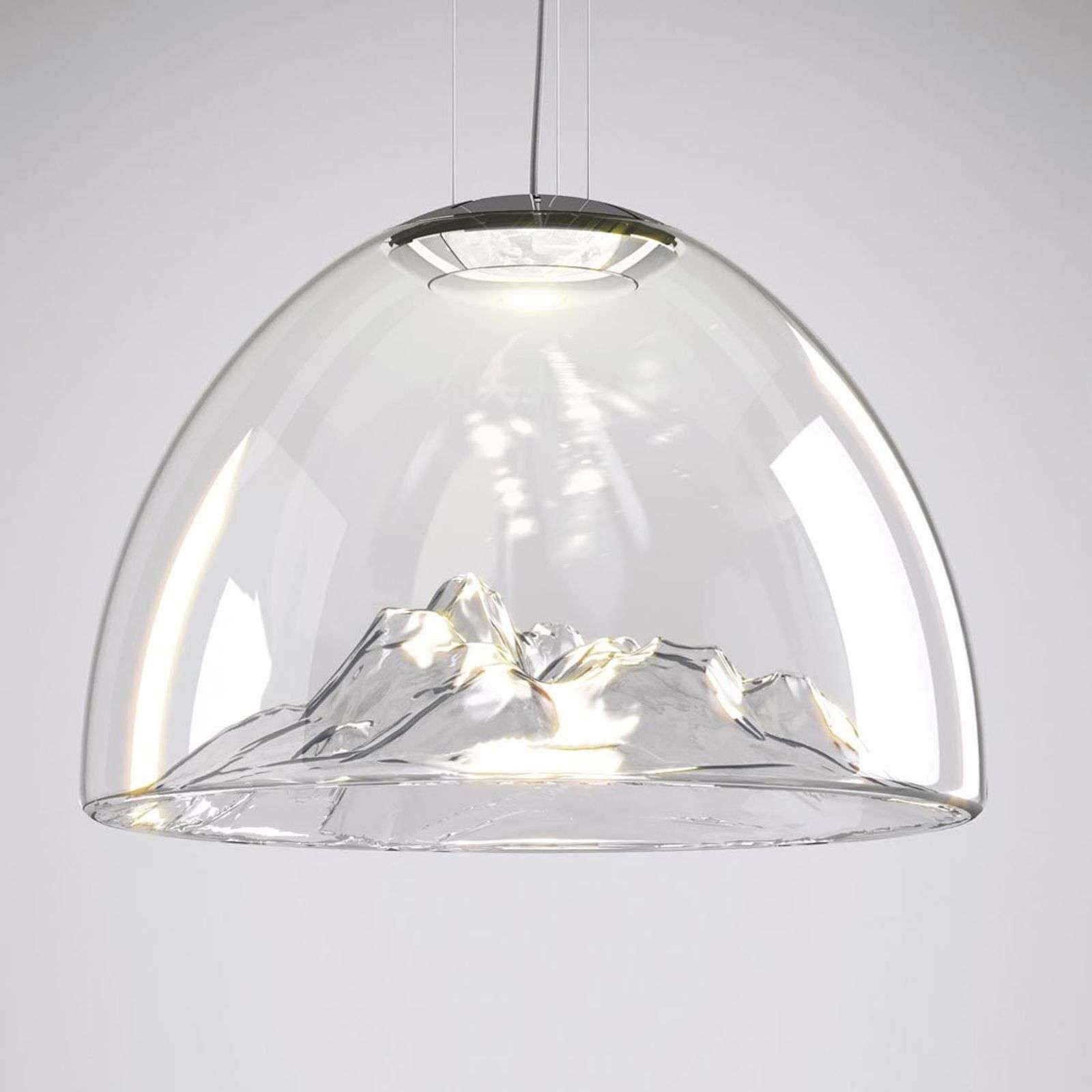 Suspension LED de designer originale Mountain View