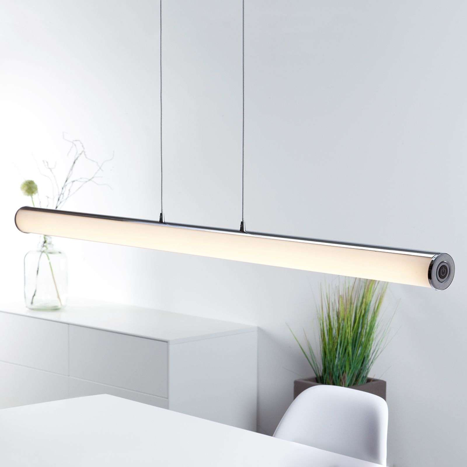 Suspension LED Tube au design minimaliste