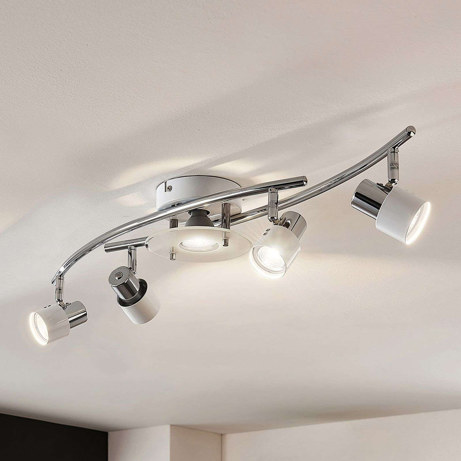 Cleon - plafonnier LED blanc, dimmable
