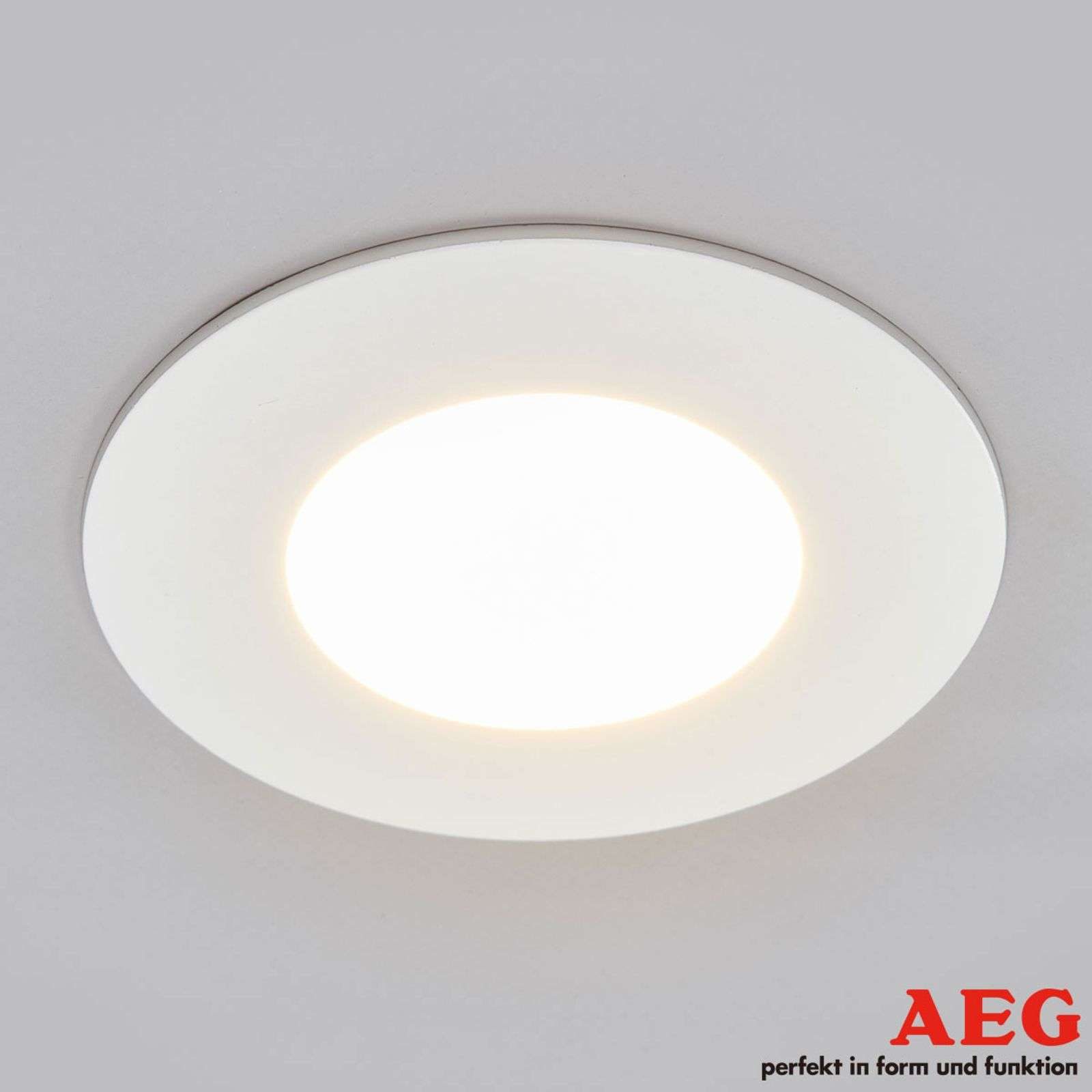 Spot encastré LED Orbita blanc AEG, variable