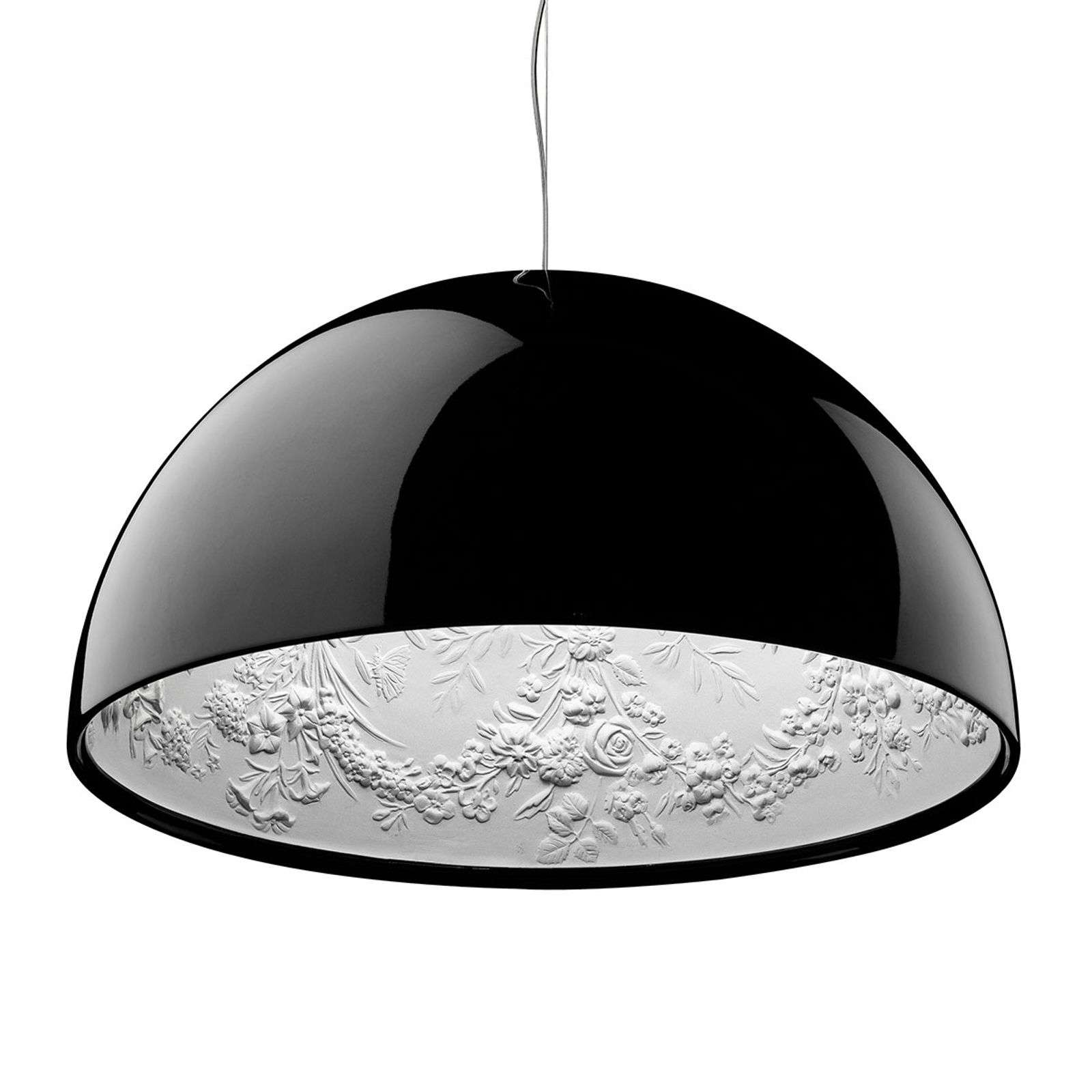 Suspension design SKYGARDEN 1 abat-jour noir