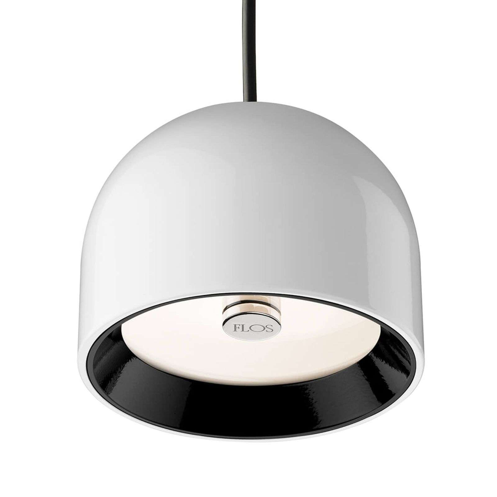 Suspension WAN S by FLOS blanche