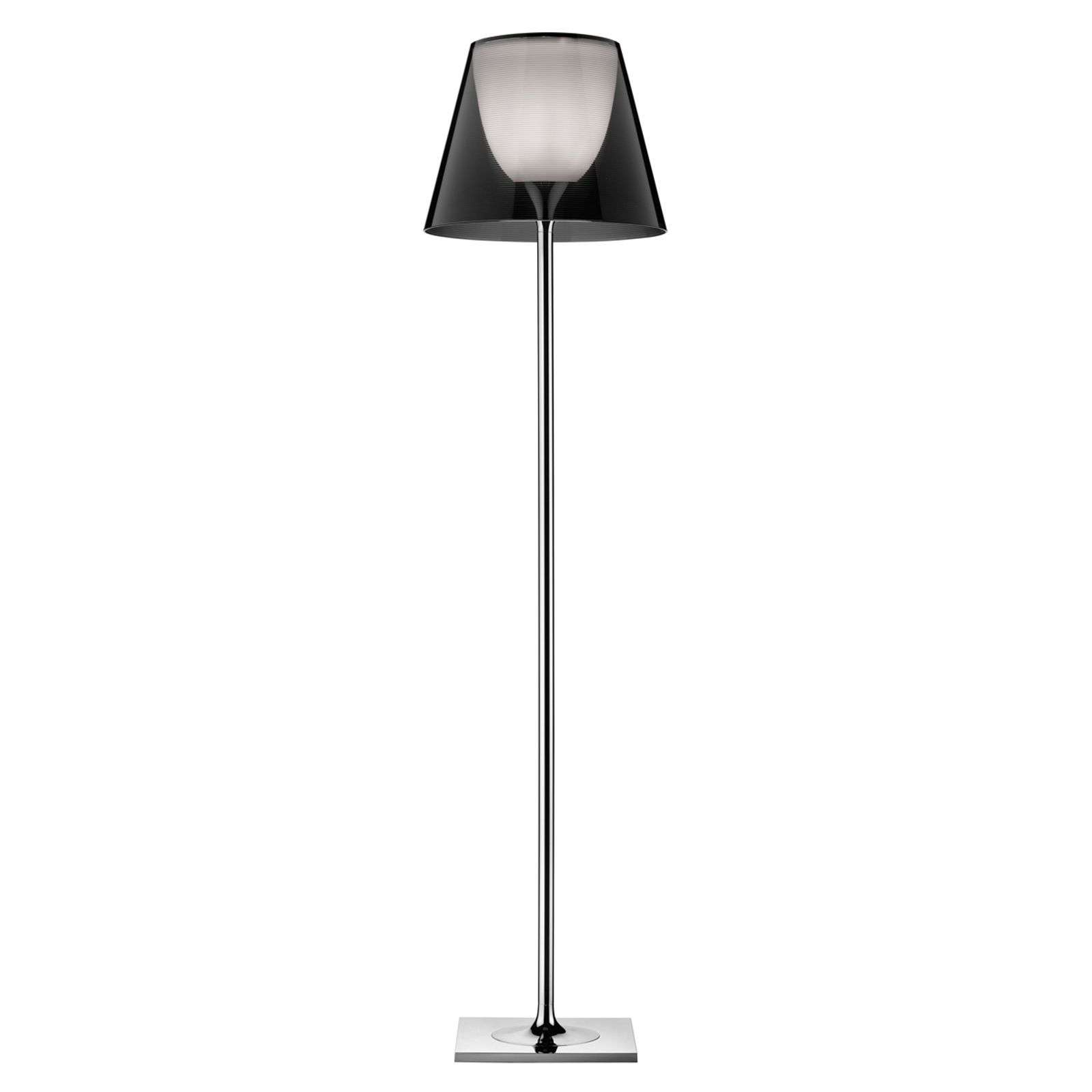 Lampadaire KTRIBE F2 by FLOS transparent