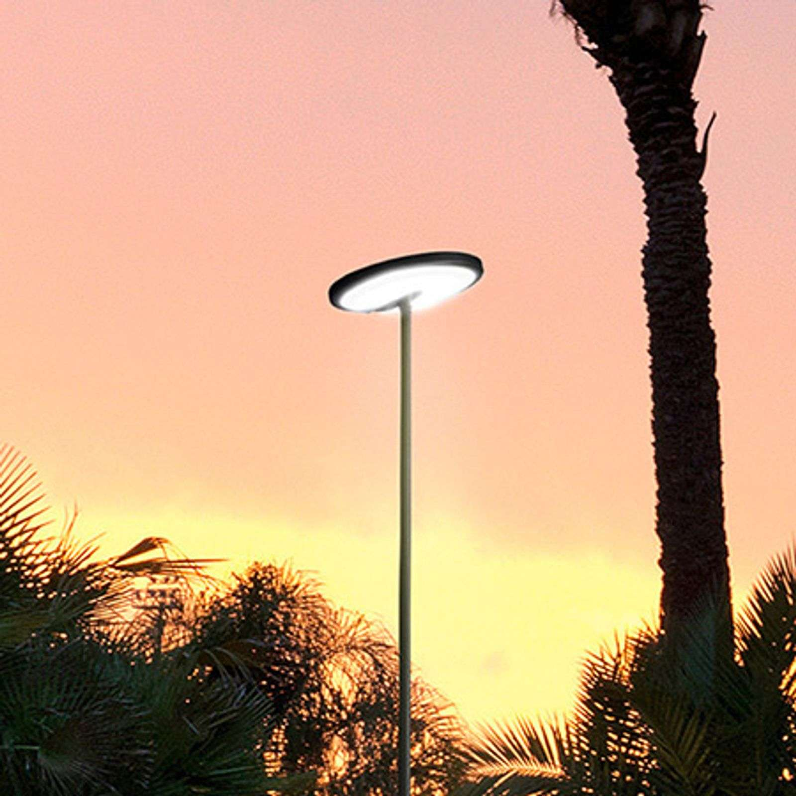 Lampadaire LED Invisible IP54