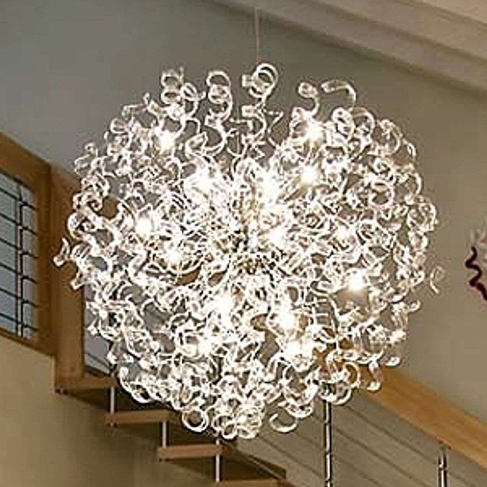 Suspension innovante CRYSTAL Boule, 115 cm