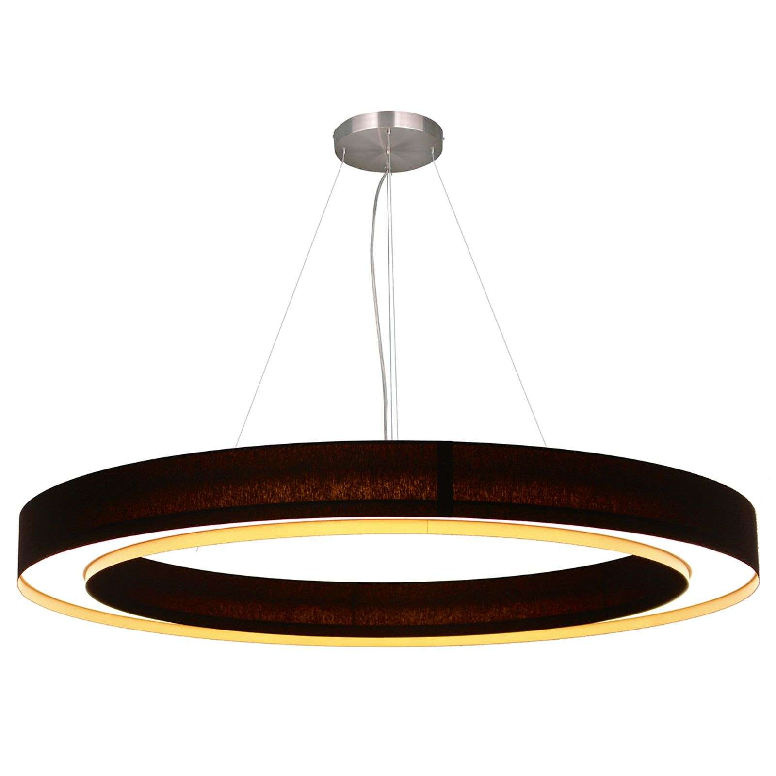 Suspension LED circulaire Cloud, 90 cm