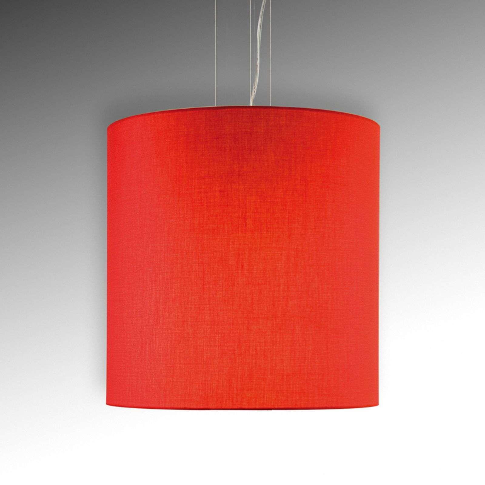 Suspension agréable Tono rouge diamètre 45 cm