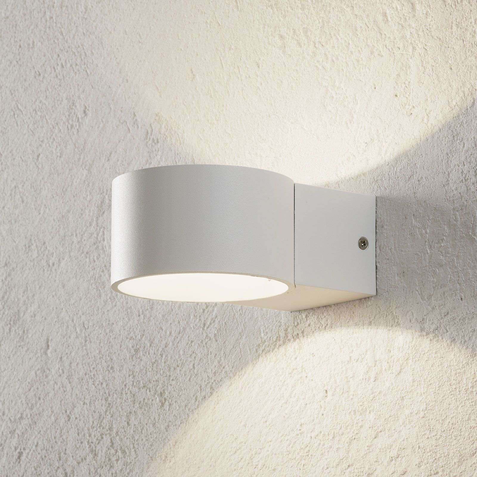Led-wandleuchte lacapo hohe und niedrige diffusions