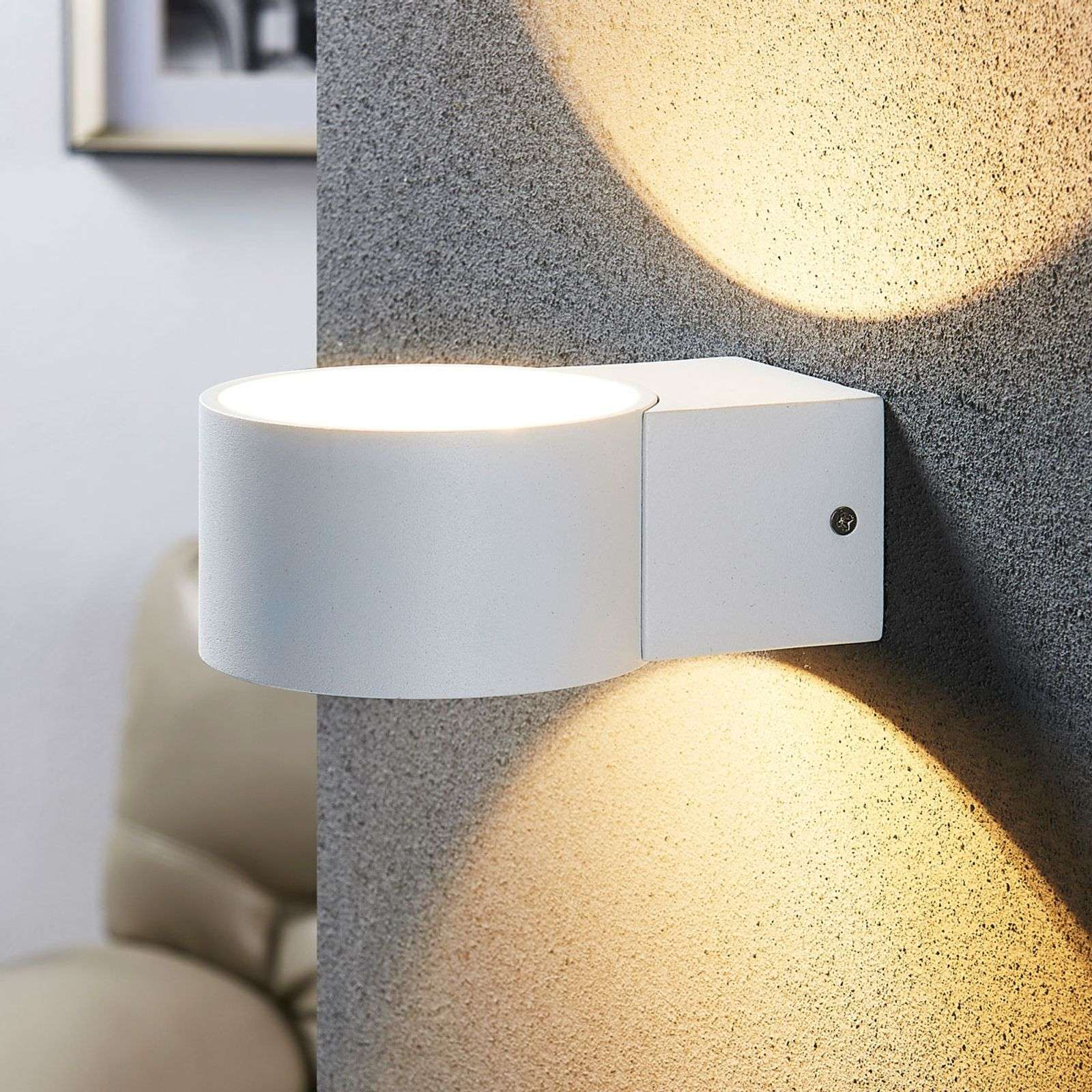 Applique LED blanche Marlea