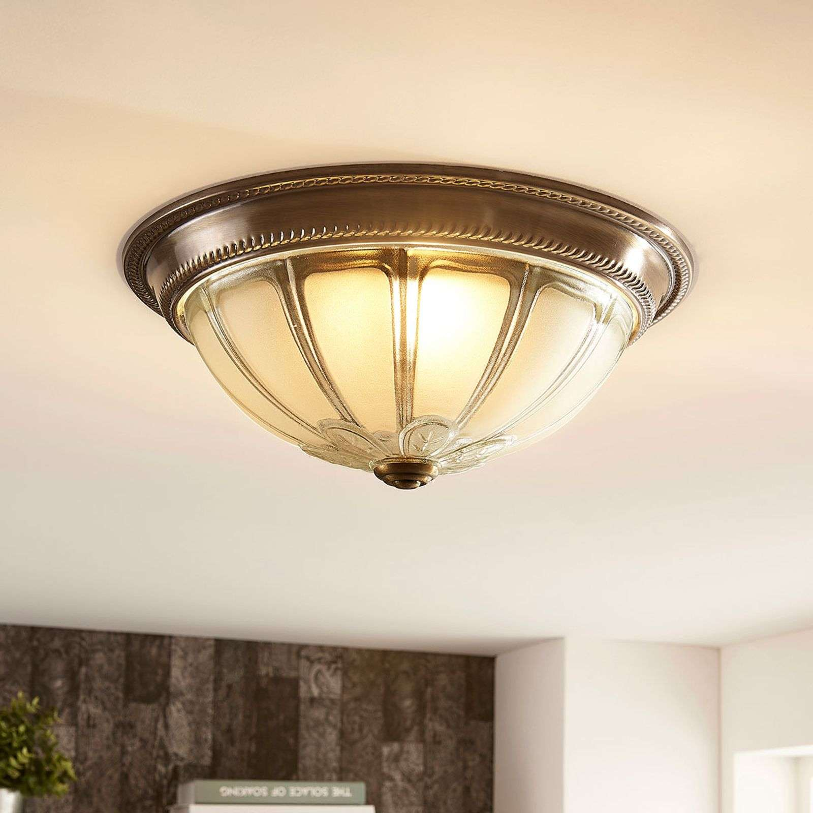 Plafonnier LED Henja rond, dimmable 4 positions