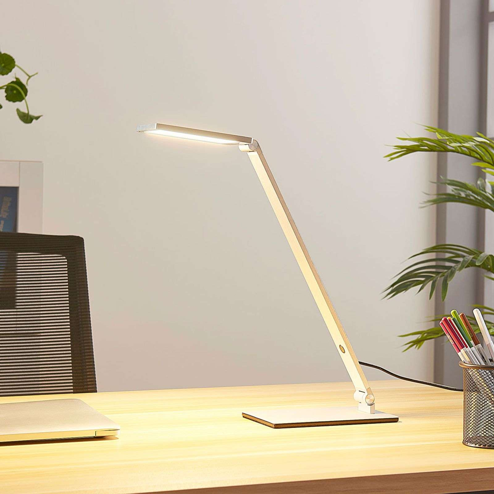 Lampe de bureau LED Resi, dimmable