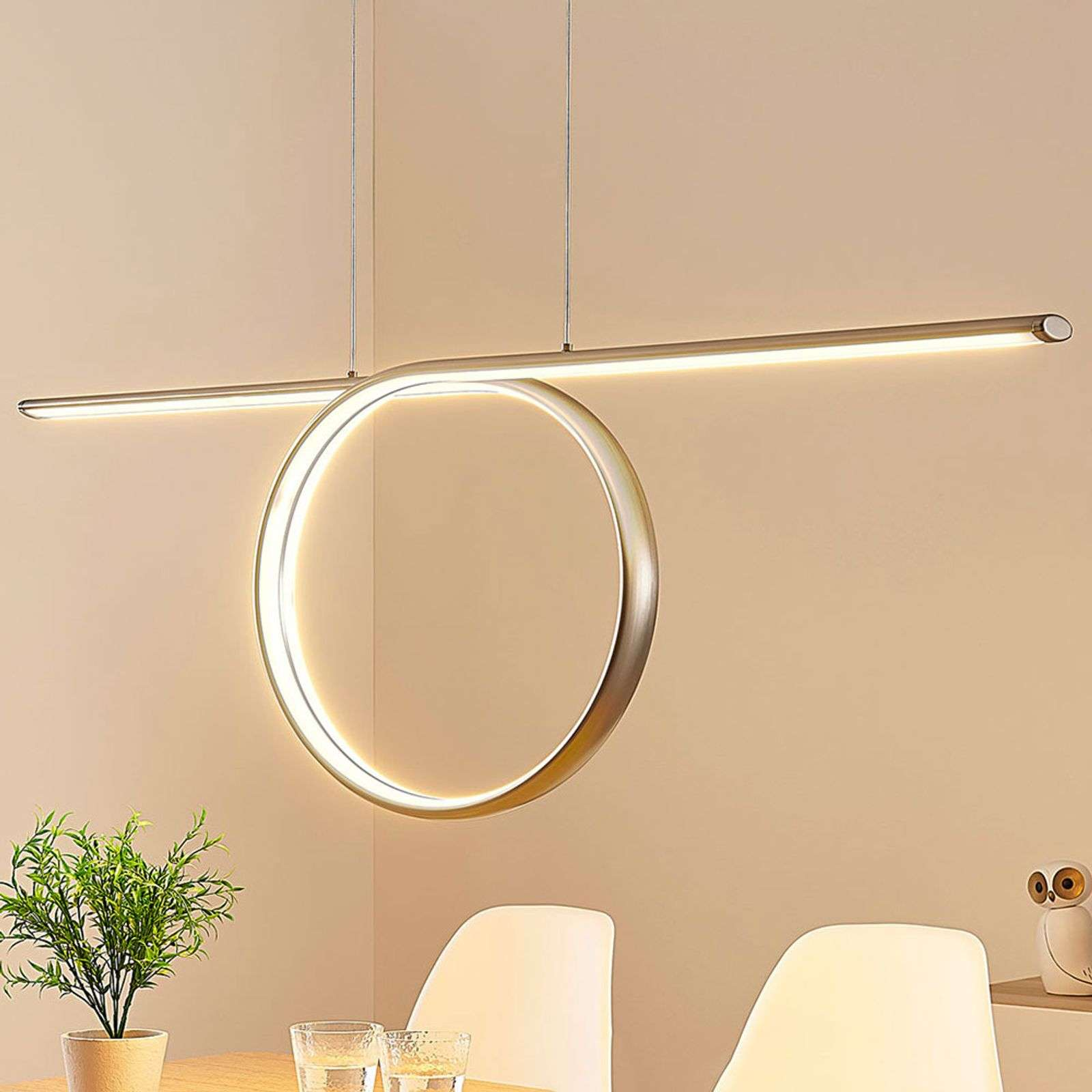 Tani - suspension LED en forme de boucle