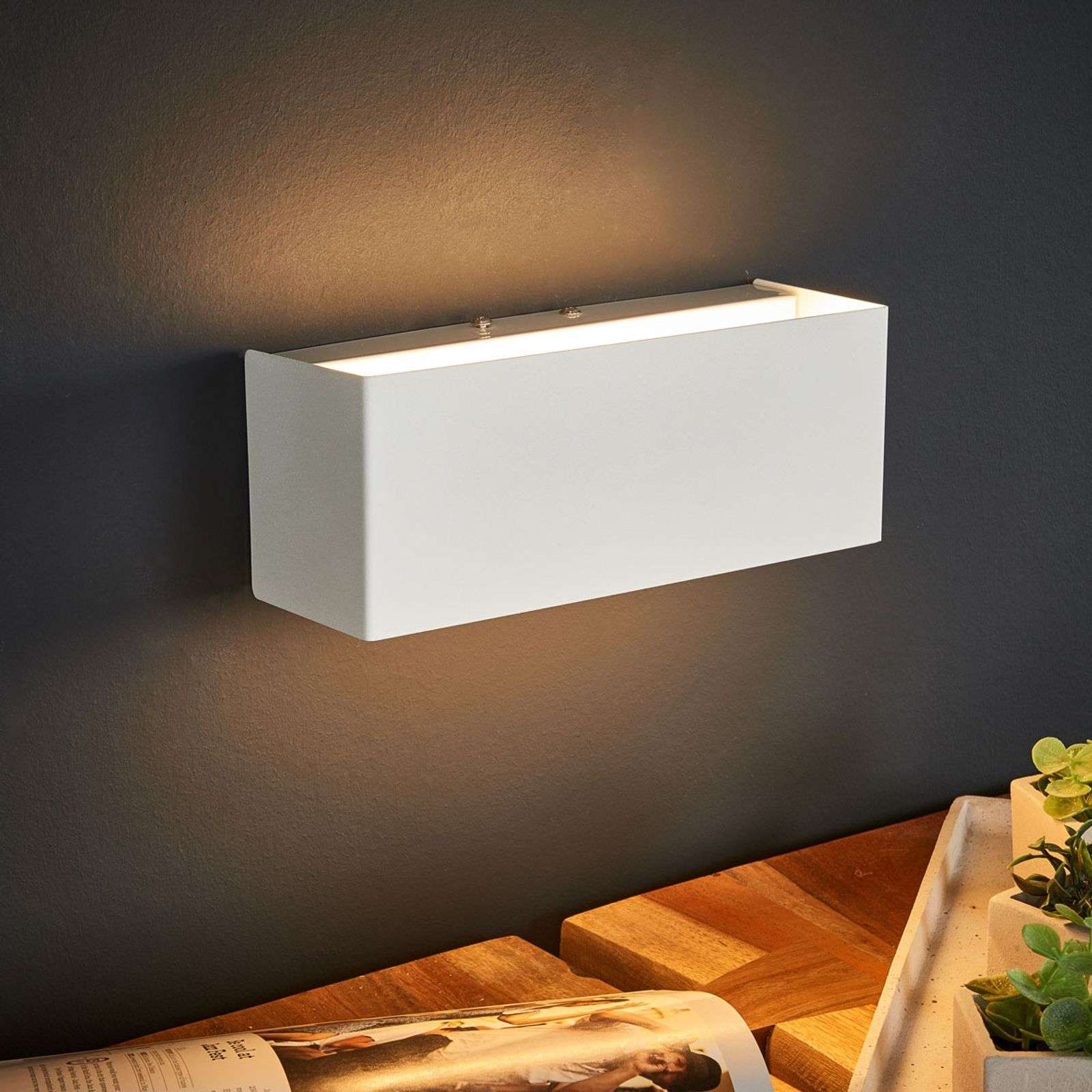 Applique LED blanche Kimberly