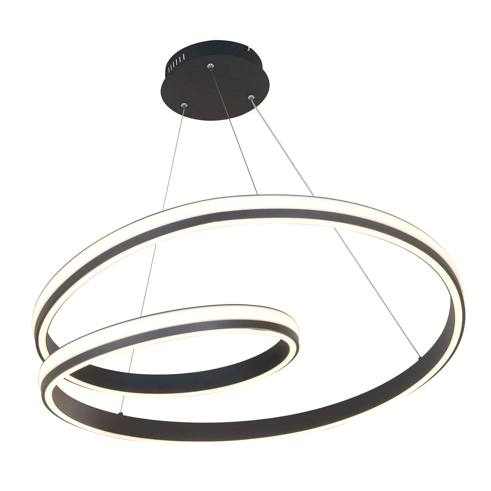 Lucande Gwydion suspension LED, 80 cm