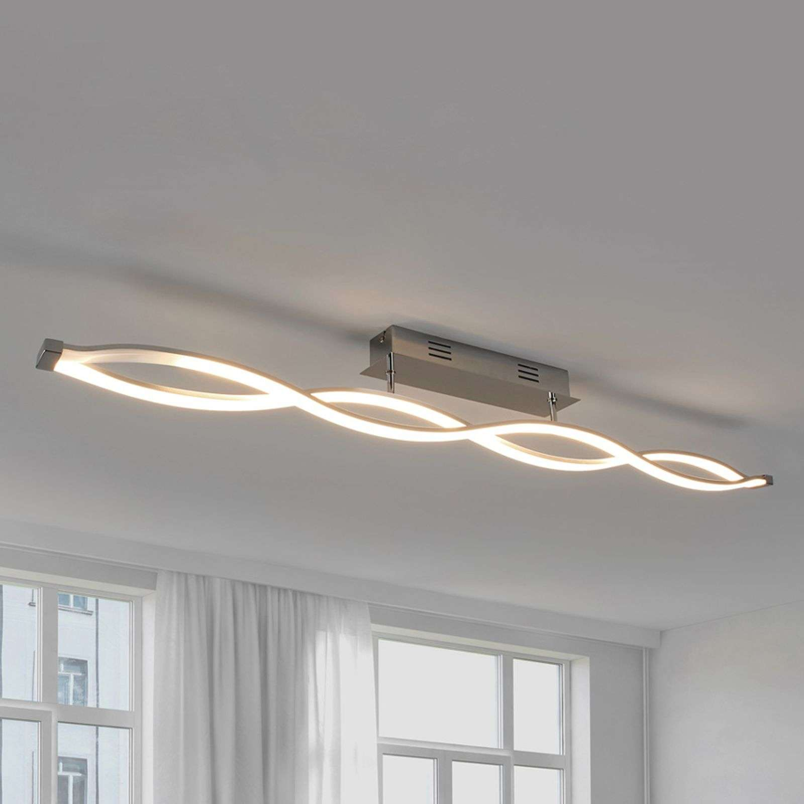 Tura - Plafonnier LED en forme de vague