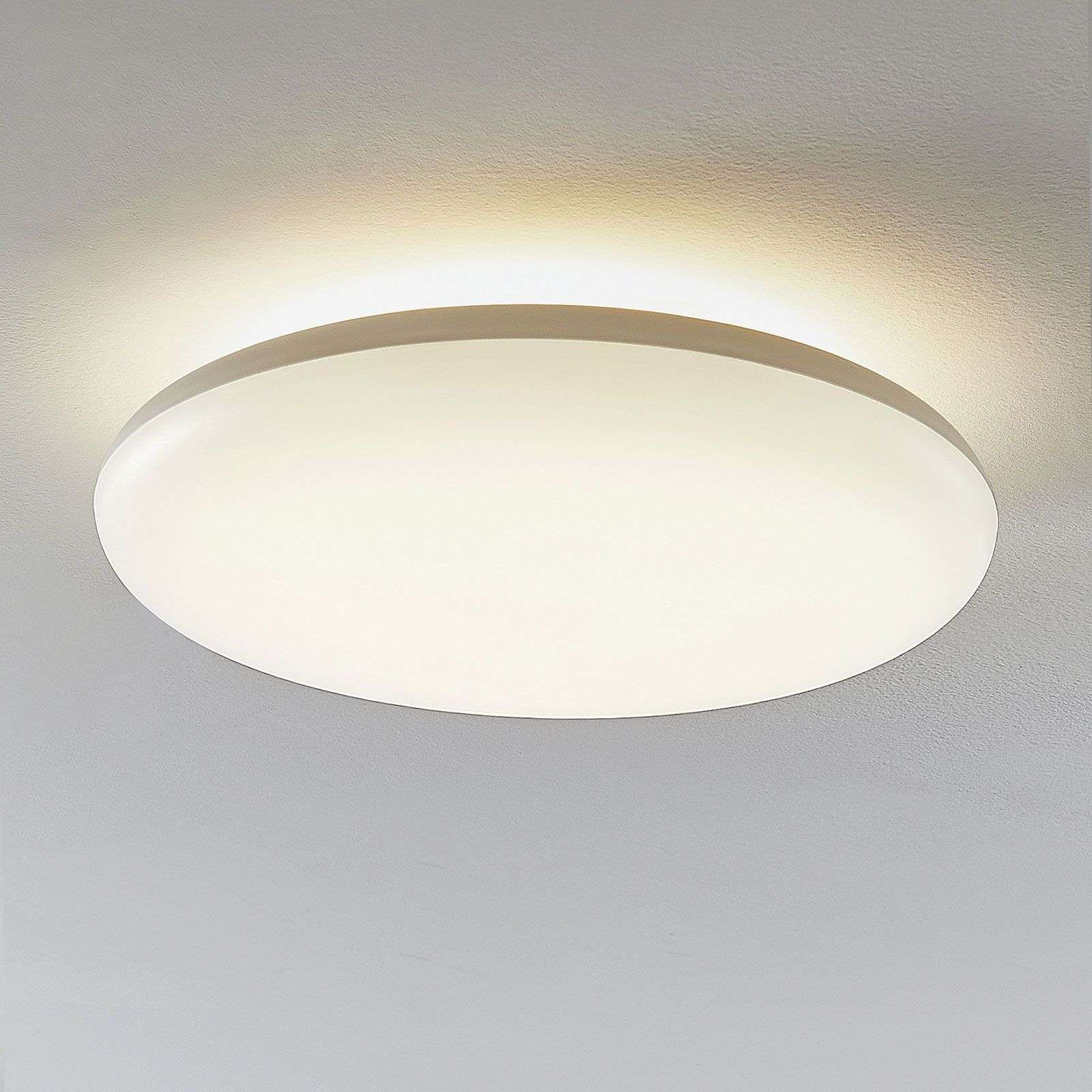 Plafonnier LED Kirian, rond, 4 000 K, dimmable