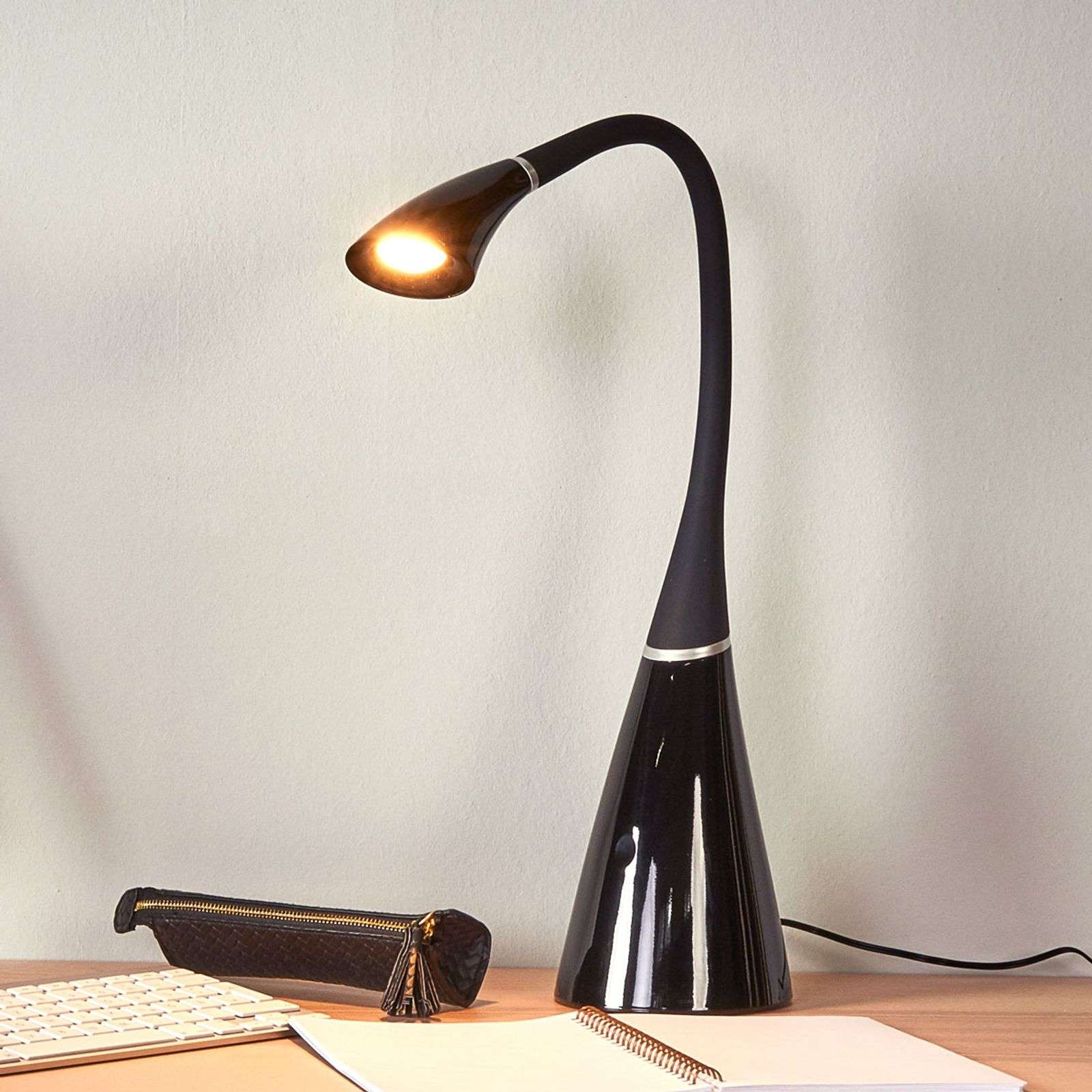 Lampe à poser LED variable Noelia pour le bureau