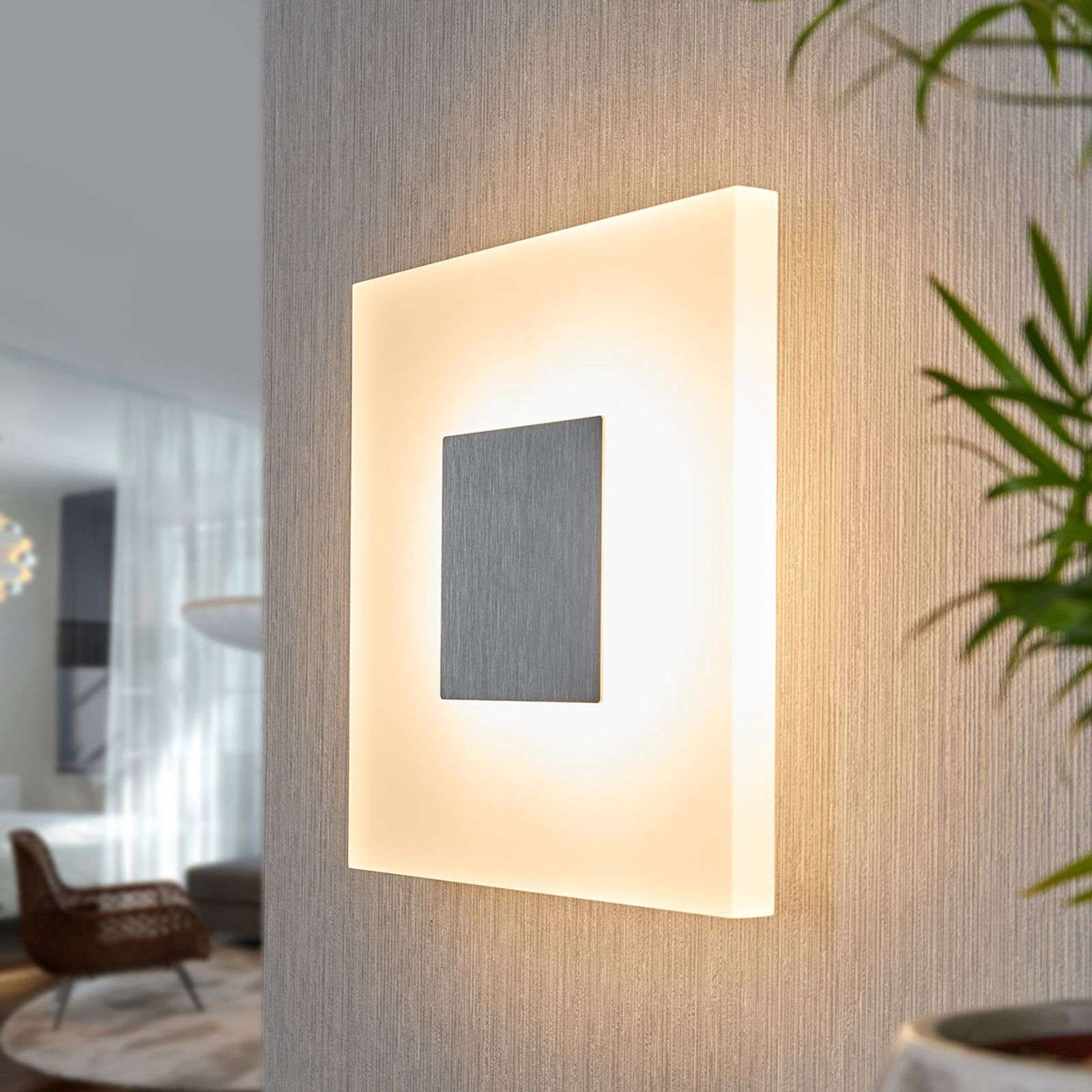 Applique LED carrée Berlind
