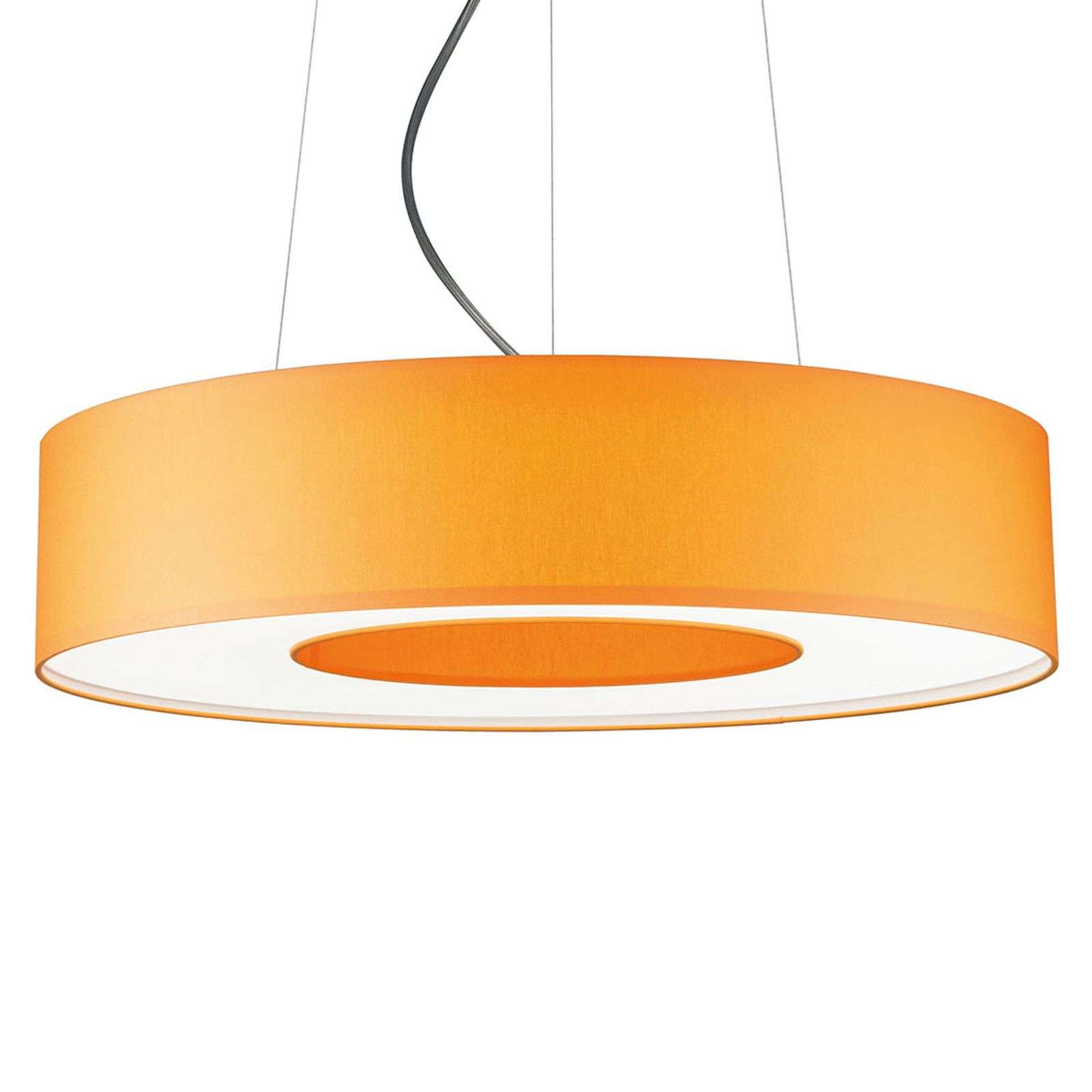 Suspension LED Donut dimmable 34 W orange