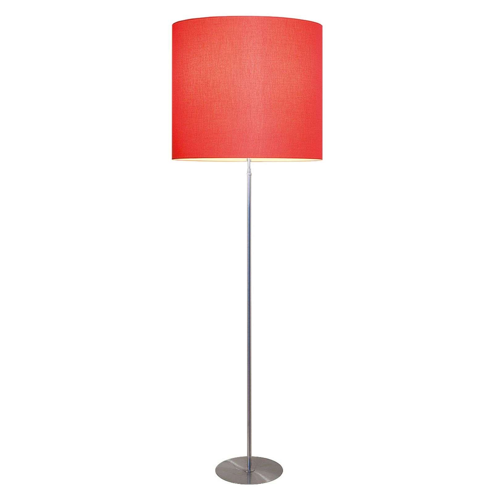 Lampadaire moderne Tono rouge