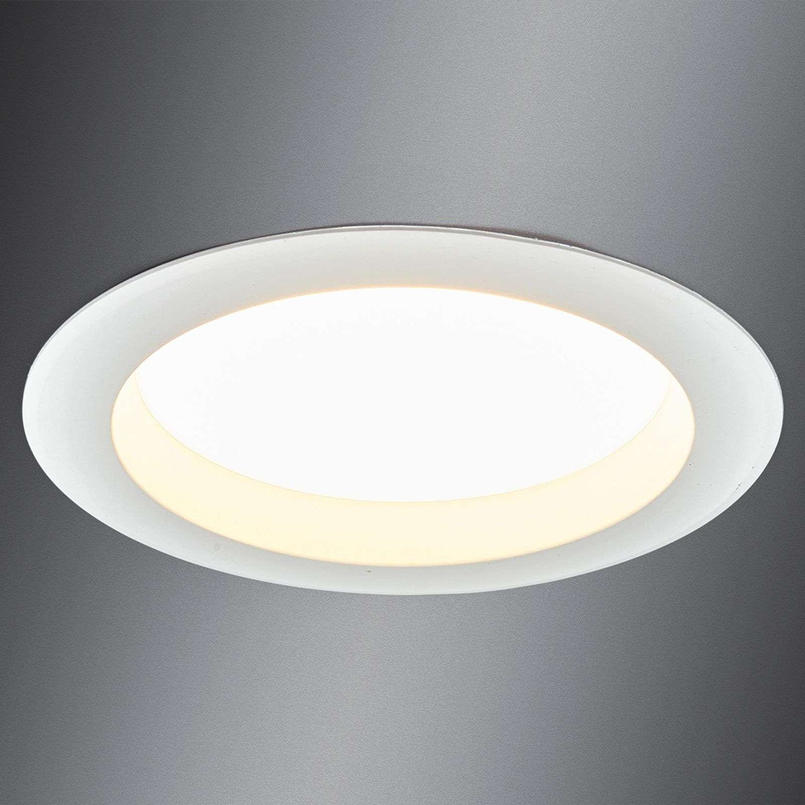 Downlight LED lumineux Arian, 17,4 cm, 15 W