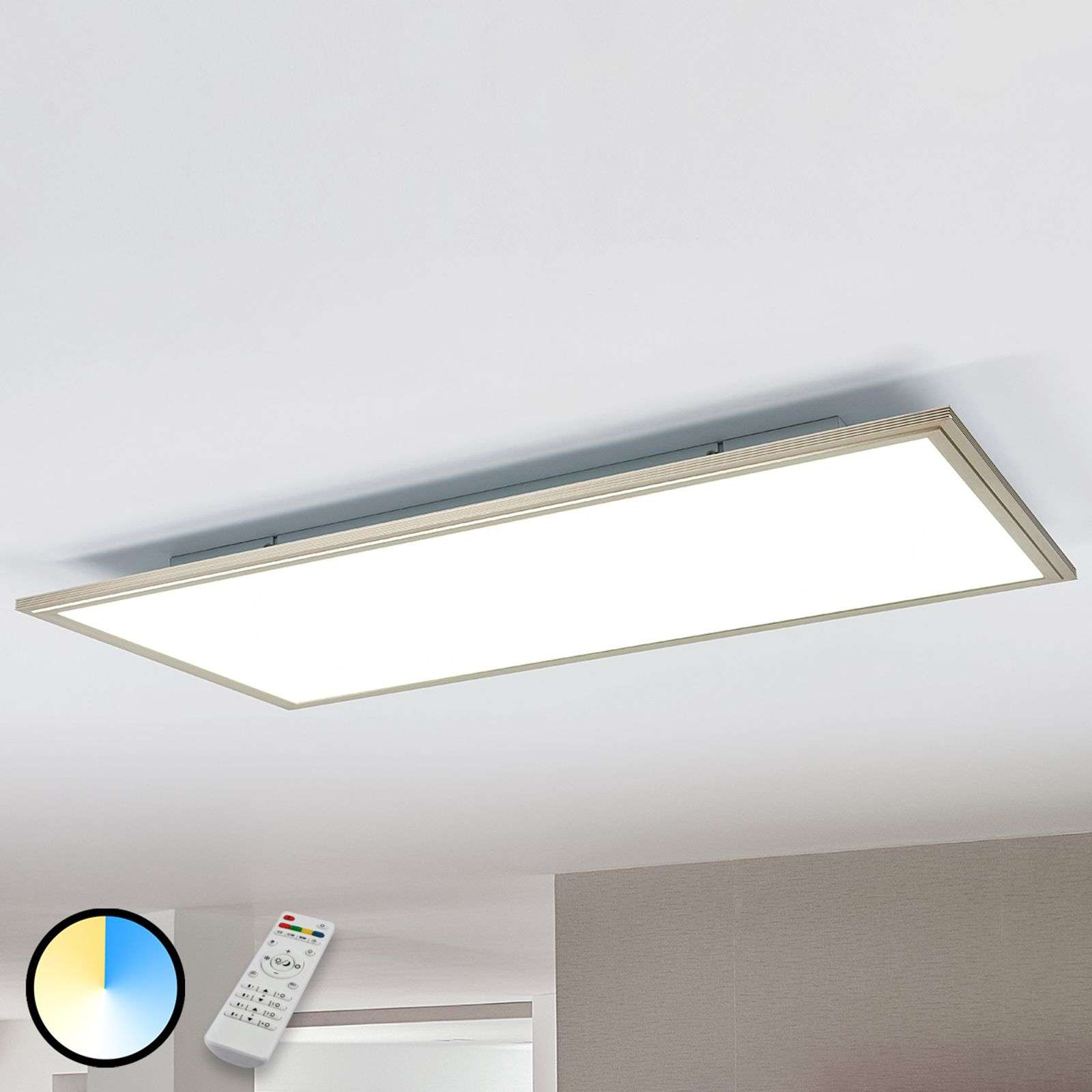 Plafonnier LED Corinna dimmable, 2700-6200K