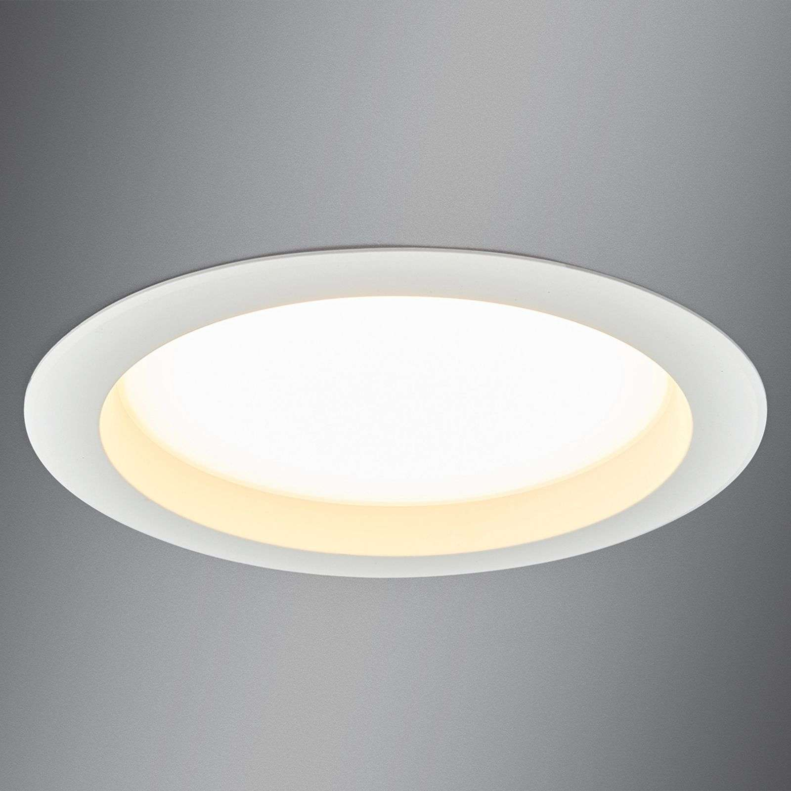 Grand spot encastrable LED Arian, 24,4 cm, 22,5 W
