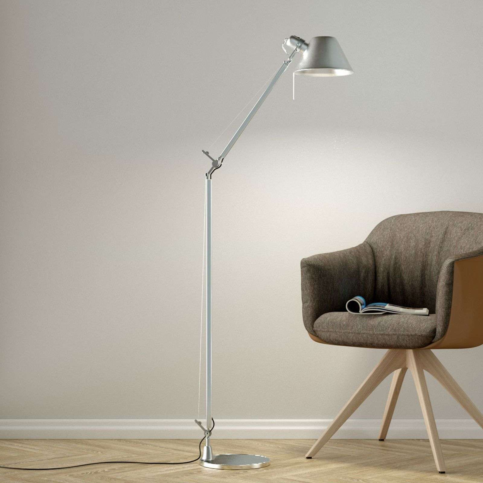 Lampadaire flexible Tolomeo Reading Floor
