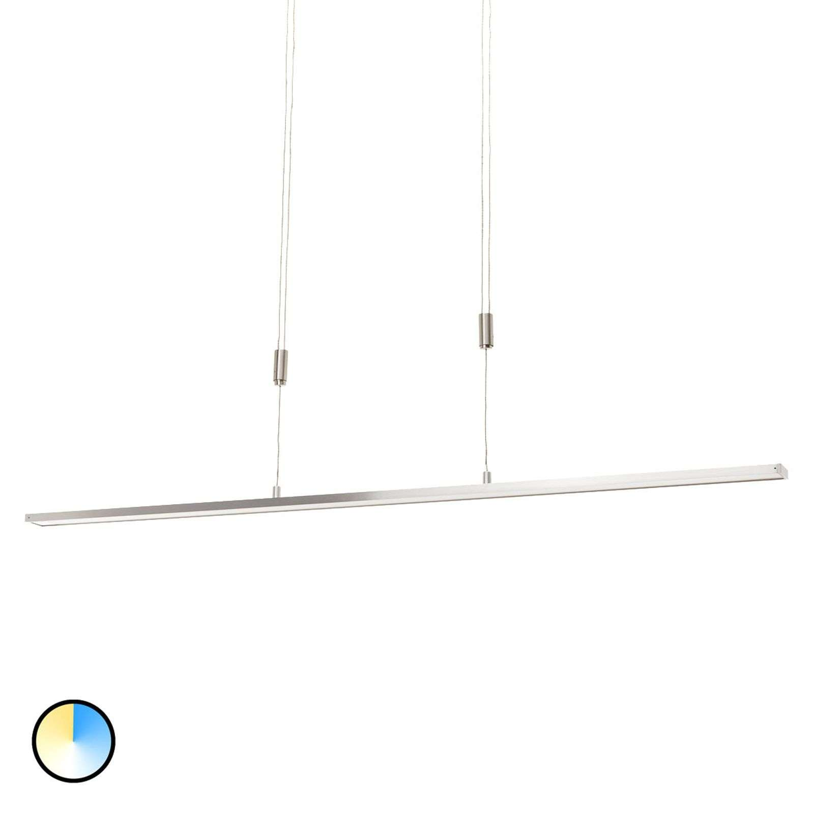 Suspension LED Shine réglable en hauteur dimmable