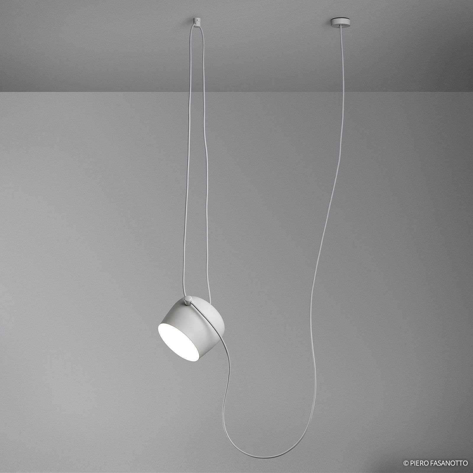 Aim suspension design LED blanc